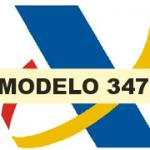 Novedades en el modelo 347